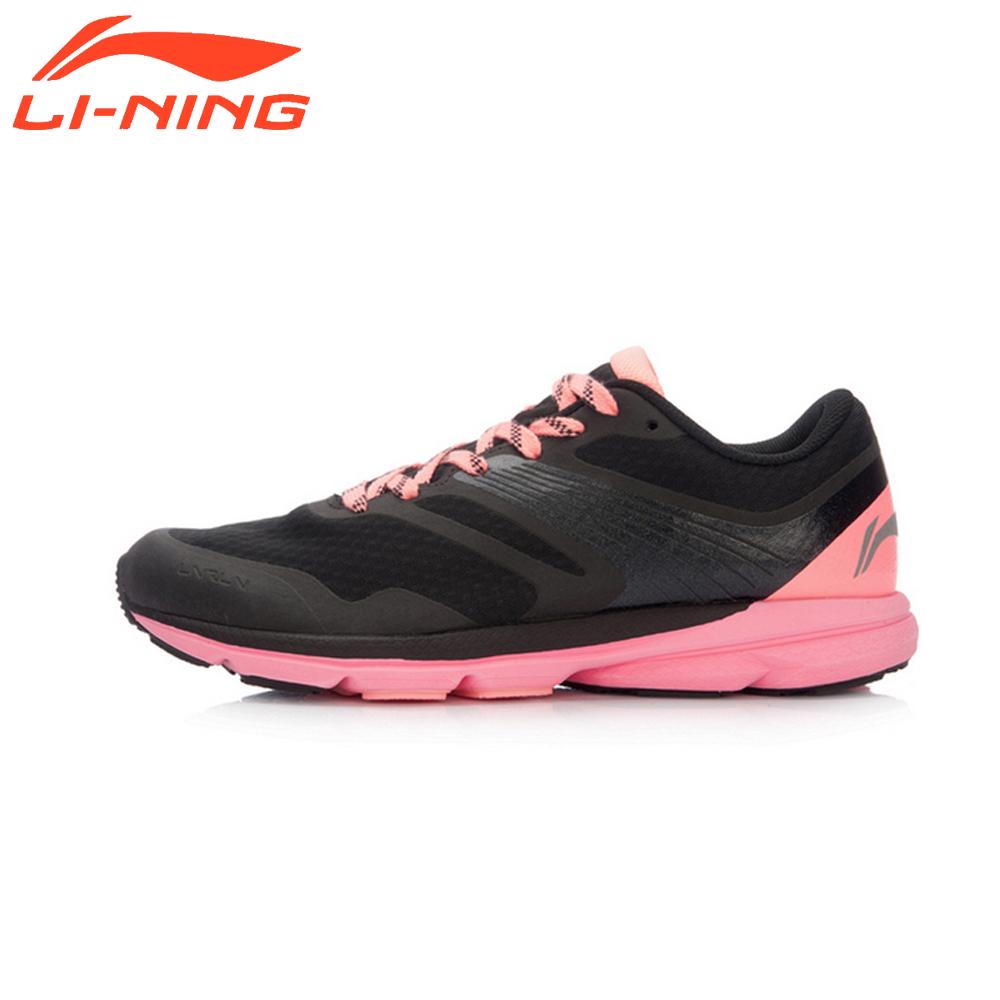 Prix pour Li-ning femmes smart chaussures de course léger sport sneakers lining marque rouge série de lapin chaussures arbk086