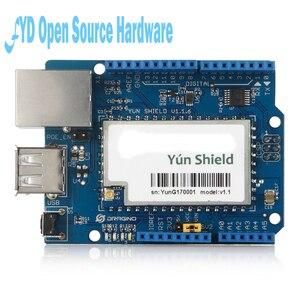 Image 4 - 1pcs Yun Scudo V1.6 Linux WiFi Ethernet USB Progetto per arduino