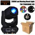 Gigertop сценический свет 200 Вт светодиодный движущийся головной свет DMX512 контроль 6/18 каналов 3 фасетные призмы/6-рядные призмы опционально Мощн...