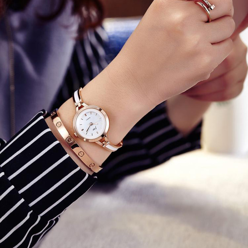 Korean Style Ladies Quartz Watches Fashion Women Wristwatches Bracelet Bangle Luxury Best Gift Fit Party Women Dress reloj mujer 4