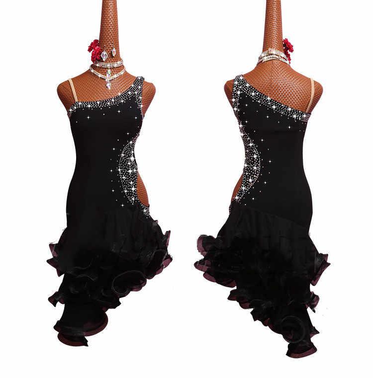 Платье Латина Черное