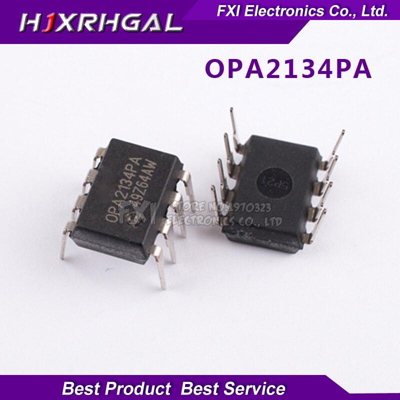 5PCS OPA2134PA OPA2134P DIP8 DIP OPA2134 High Performance AUDIO OPERATIONAL AMPLIFIERS new original free shipping