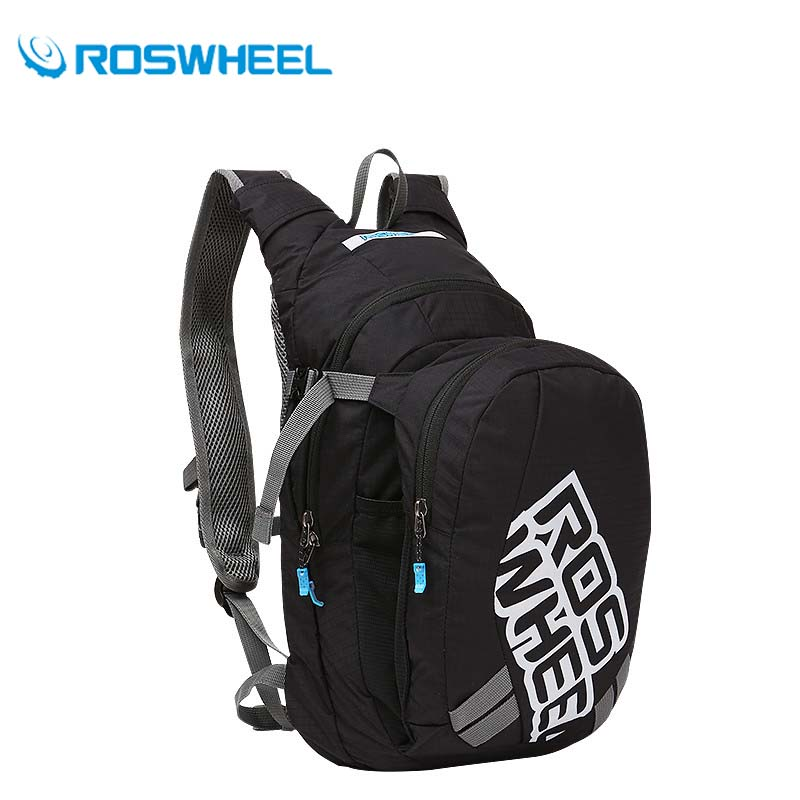 Roswheel 8L Outdoor Bike Bags Road MTB Ultralight Sport Bicycle Shoulders Water Bag Nylon Cycling Hydration Backpack Rucksack 10l professional hydration bag bicycle backpack for men road packsack rucksack vest bag hydration pack women s shoulder bags 508