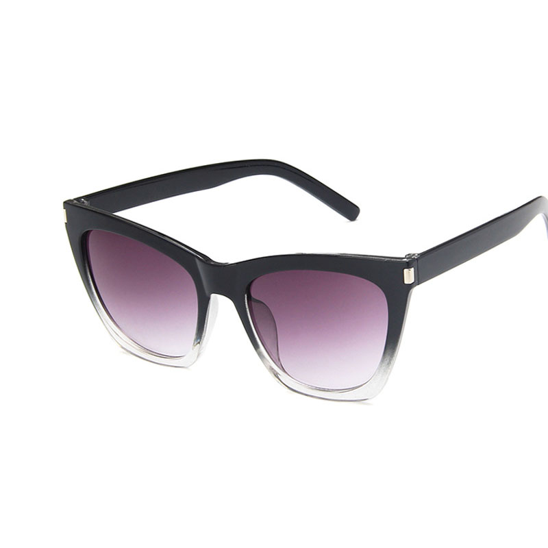 New Vintage Gradient Cat eye Women sunglasses Retro  Fashion Brand design trend Female Eyewear sunglassesUV400