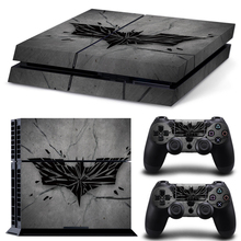 Grey Batman Logo for PS4 Skin Sticker Vinly Skin Sticker for Sony PS4 PlayStation 4 and 2 controller skins PS4 Stickers Skin стоимость