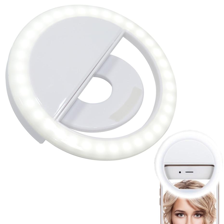 Macro & Ring Lights Ring Flash For Phone Selfie Photo Taking Battery Photography Lighting Led Rings Light Flash Light
