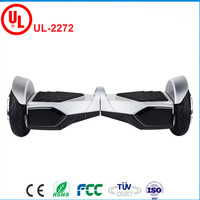 UL2272 Ceritficated 8 Inch 2 Wheels Smart Scooter Hoverboard With Bluetooth