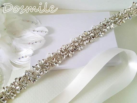 Handmade Sparkly bridesmaid rhinestones dazzling crystals stone wedding sashes bridal belts for wedding dress