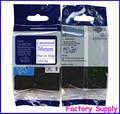 5 unids TZe-FA6 Tz-FA6 Compatible para Brother tejidos de ropa cinta de la etiqueta 36 mm * 3 m azul en blanco ( trajes )