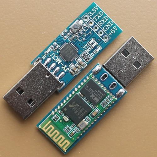 все цены на USB JY-MCU interface bluetooth wireless serial transmission module, wireless serial port, HC-06 host онлайн
