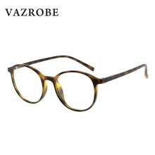 27b2de923e16a Vazrobe TR90 Rodada Pontos para Miopia Óculos De Dioptria Óculos Mulheres  Homem Óculos Vintage Círculo Feminino Quadros Prescriç.