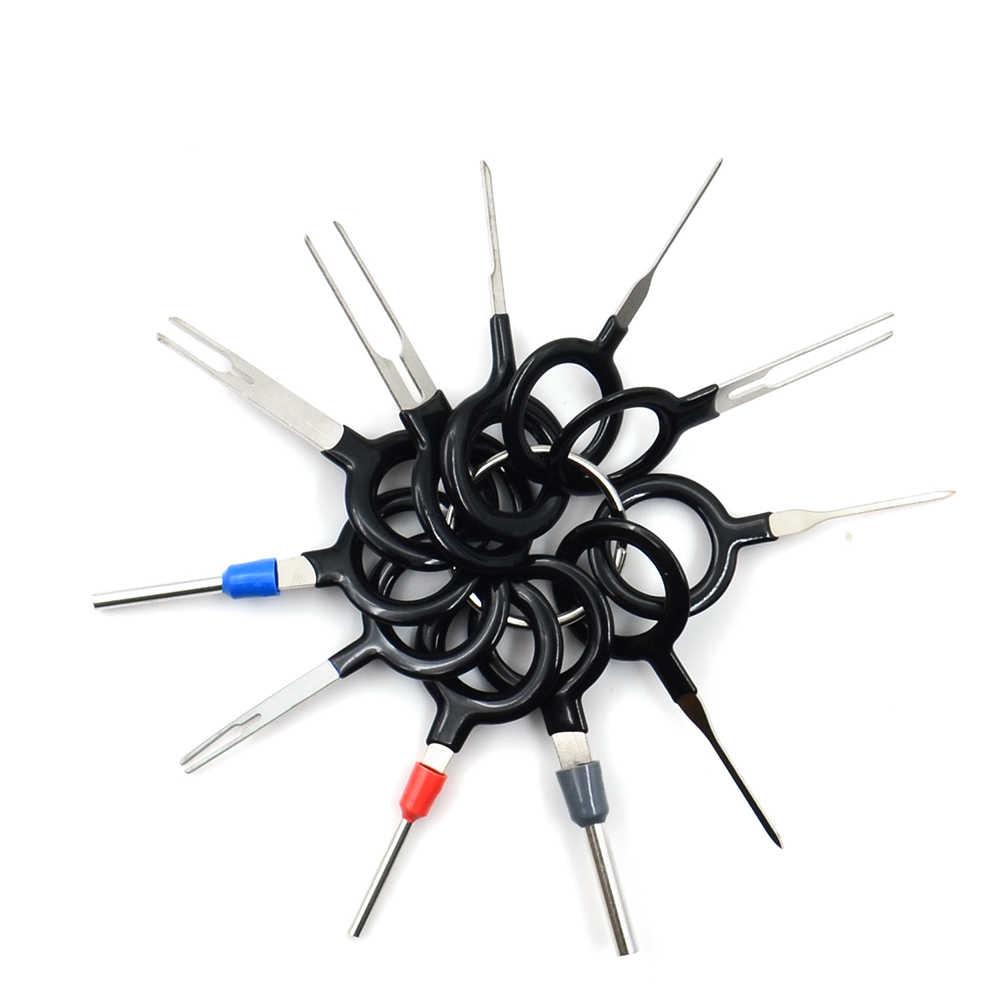 3 piezas. 8 piezas. 11 Auto coche enchufe placa de circuito cable arnés Terminal extracción conector engarzado Pin aguja trasera eliminar de la herramienta