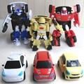 3pcs/Lot TOBOT Transformation Robot Car Korea Cartoon TOBOT Car Toys Children Vehicle Toys Gift