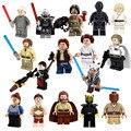 Star Wars Rogue Un C-3PO Han Soloet Chirrut Imwe obi wan Figuras Building Blocks establece juguetes para niños compatibles Lepin