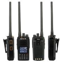 uhf dual band RETEVIS RT52 DMR רדיו דיגיטלי מכשיר הקשר Dual PTT Dual Band DMR VHF UHF GPS שתי דרך רדיו המוצפן Ham חובב רדיו + כבל (5)