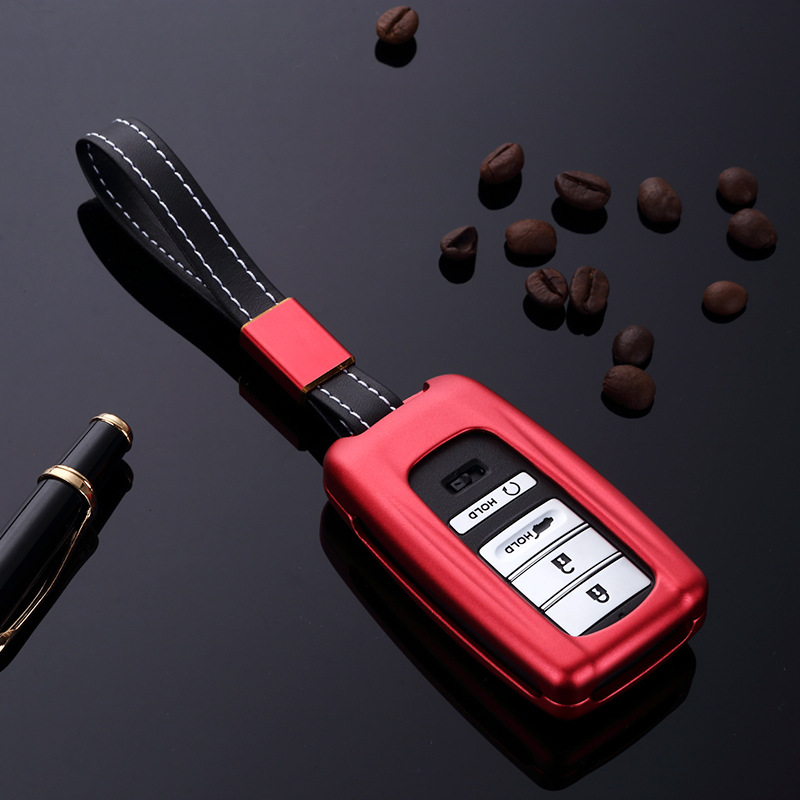Aluminum Alloy Car Smart Remote Key Case Cover Holder Fob
