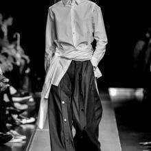 27-44! Мужская одежда на заказ, весна, большая широкая пряжка для брюк, модная мужская одежда, одежда певицы
