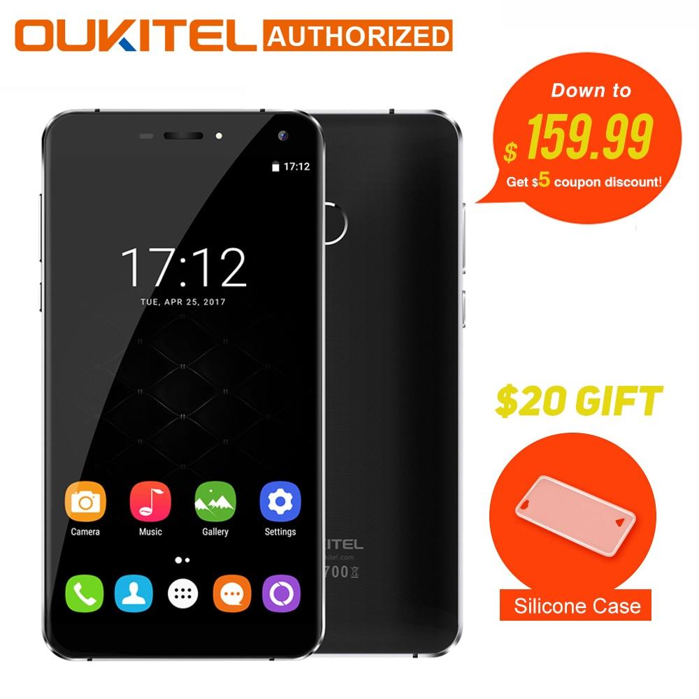 Original Oukitel U11 Plus Android 7 0 Moblie Phone 5 7 FHD Octa Core 4GB RAM