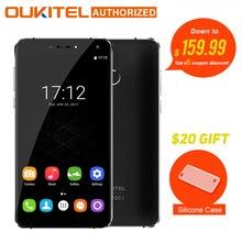 """Оригинал oukitel u11 плюс android 7.0 мобильный телефон 5.7 """"fhd окта основные 4 ГБ ram 64 ГБ rom mtk6750t 13.0mp 3700 мАч отпечатков пальцев телефона"""