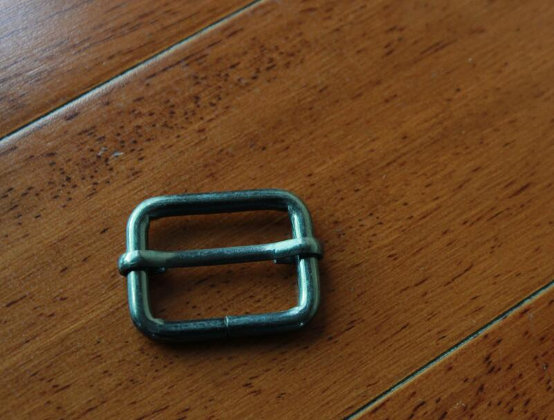 Shoes Buckle Belt Parts Metal Ring 1x3/4high Quality Gun Square Buckle For Bag Parts Bag Hardware Accessories