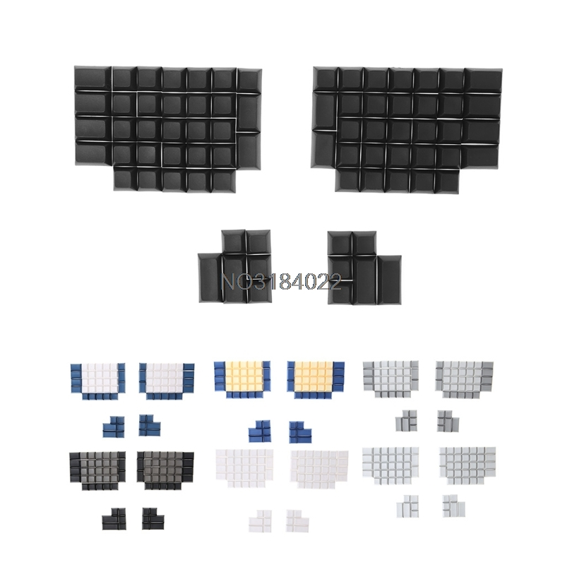 Pbt Keycaps DSA Blank Keycaps for Ergodox Mechanical Gaming Keyboard DSA Profile 108 key pbt double shot translucidus backlit keycaps for corsair strafe k65 k70 logitech g710 mechanical gaming keyboard