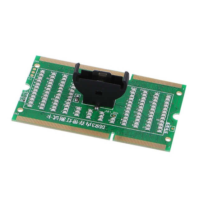 2020 New DDR3 Memory Slot Tester Card with LED Light for Laptop Motherboard Notebook