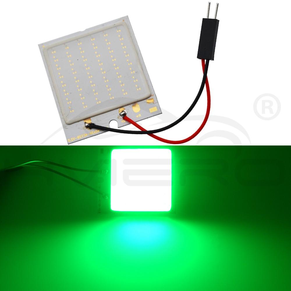 Hviero White 7 Colors T10 C5W Cob 48SMD chip Reading Lamp Car Led Parking Bulb Auto Interior Panel Light Festoon License Plate Lights