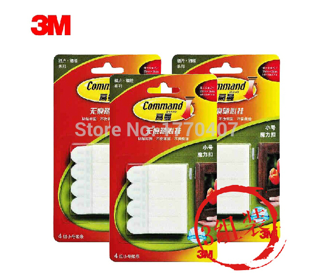 36 Pack 3m Command Damage Free Small Picture Hanging Strips 4 Sets