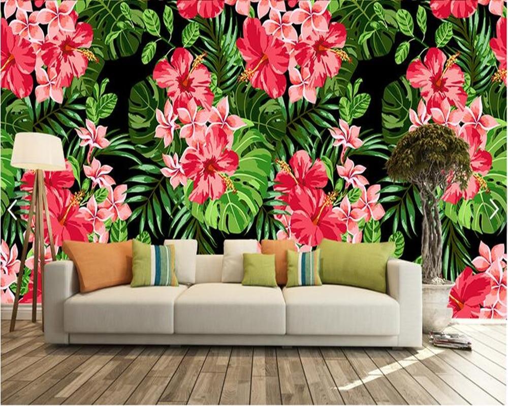 Custom 3d wallpaper mural flowers, pink floral murals for living room bedroom sofa backdrop wall decoration wallpaper large custom 3d wallpaper mural 3d wallpaper 3d stereoscopic rose pink flowers living room bedroom tv backdrop box