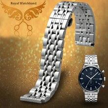 Часы группы 22 мм прочной нержавеющей стали мужская металл часы браслет ремешок бесплатная доставка