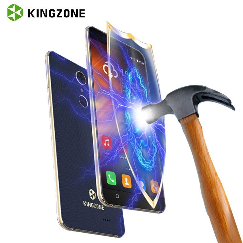 KINGZONE S3 Stoßfest Smartphone 5 Zoll Android 6.0 Quad Core 1 GB RAM 8 GB ROM Telefone Celular Fingerabdruck 3G Handy GPS