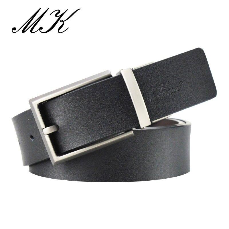 Cinturón para Hombres Casual Correa de Cuero Alta calidad Hebilla ajustable Moda