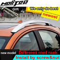 hot luggage roof bar roof rack roof rail for Honda HR-V HRV X-RV Vezel 2014-2018,two models,install by screws instead of glue