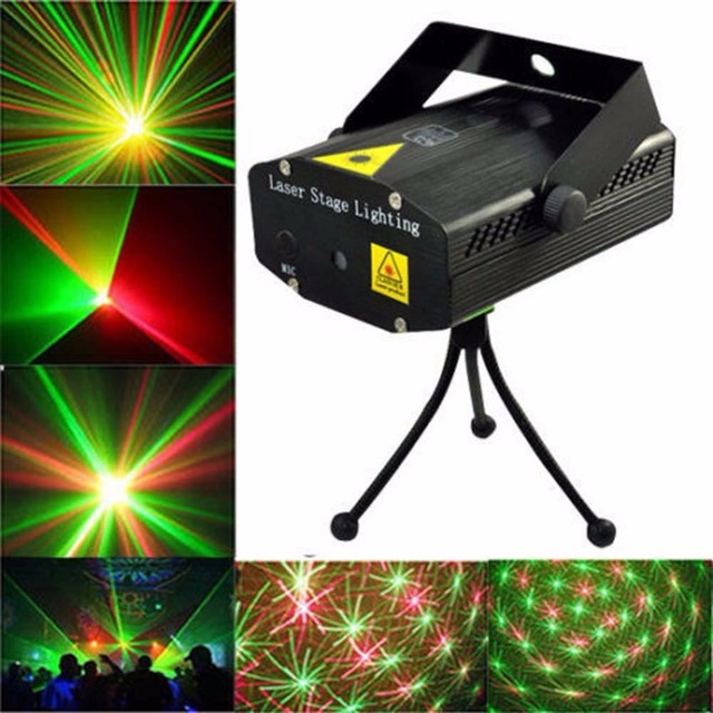 e42a68d73e3 Hot Sale Mini Projector R G DJ Disco Light Stage Xmas Party Laser Lighting A