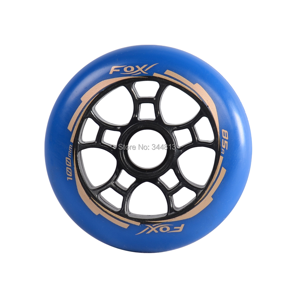 Hot sale free shipping skate wheel PU wheel high rebound wheel