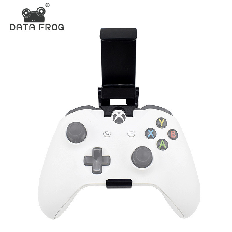 Data Frog Phone Stand Mount Hand Grip For Xbox ONE Slim/S Game Controller Gamepad Stands For Xiaomi Iphone X 6 7 8 Plus Holder image