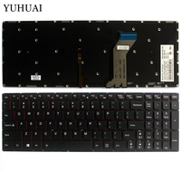 NEW for Lenovo Y700 Y700 15ISK Y700 17ISK Backlit laptop Keyboard US Without frame