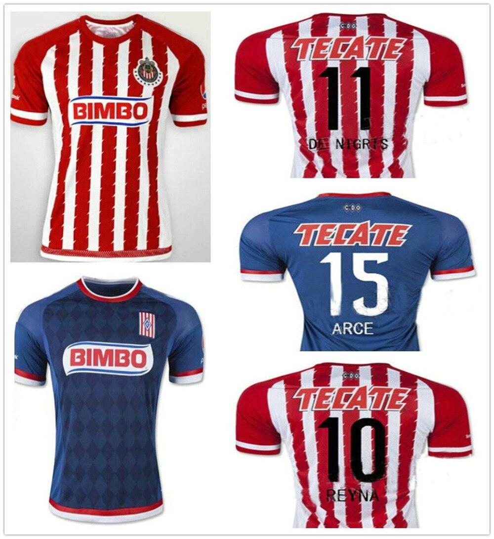 online store b97a2 357f4 15 16 Chivas Guadalajara Soccer Jersey Home away Camisas ...