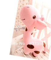Free Shipping 50cm Sika Deer Plush Toys Lovely Creative Pillow Giraffe Figurines Birthday Gifts