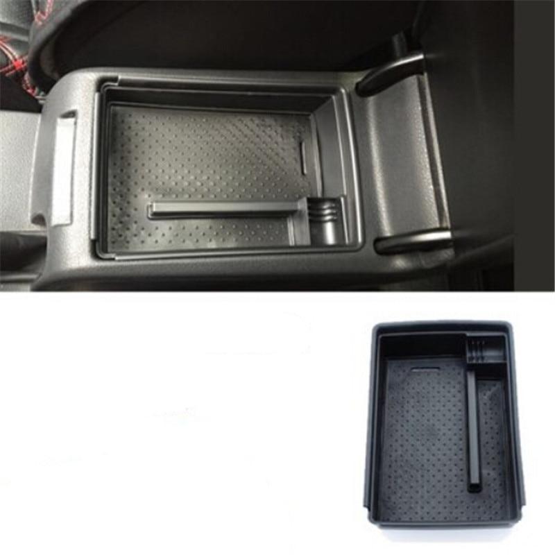 Car styling Central Boîte De Rangement Accoudoir Remodelé Voiture Gant Boîte De Rangement case Pour Volkswagen Vw Jetta MK6 2012-2017