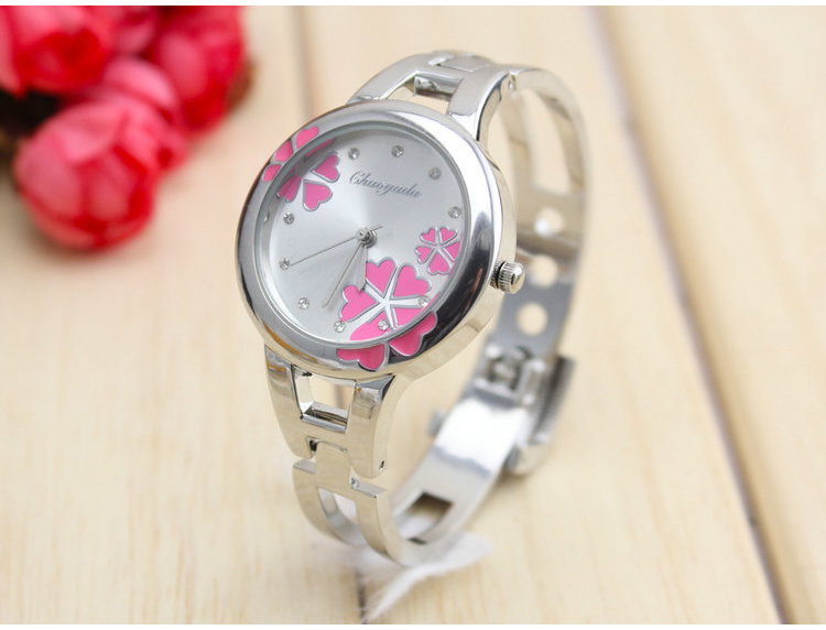 2016 new women watch brand ladies fashion stainless steel bracelet quartz watch women Lucky wrist watches for women 2016 new ladies fashion watches decorative grape no word design gold watch stainless steel women casual wrist watch fd0107