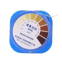 Тест-полоски хлора тест-полоски качества воды индикаторная бумага для щелочей и кислот
