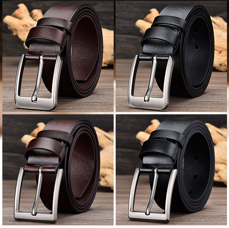 JIFANPAUL кожаный мужской ремень Классический пряжкой дизайн мода современный Молодежный для джинсов декоративные высокое качество