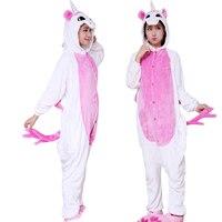 Girls Pyjamas Unicorn Panda Flannel Children Pijamas Animal Kigurumi Kids Winter Jumpsuit Pikachu Boys Pajamas Onesie