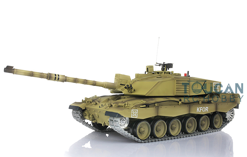 2.4Ghz Henglong 1/16 Scale Challenger II RC Tank Model Upgraded Metal Ver Tracks Sprockets Idlers 3908 все цены