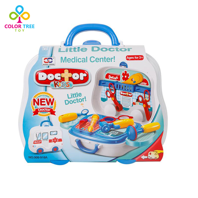 Kids Doctor Kit Medical Box Simulation Toy Pretend Play Toys For
