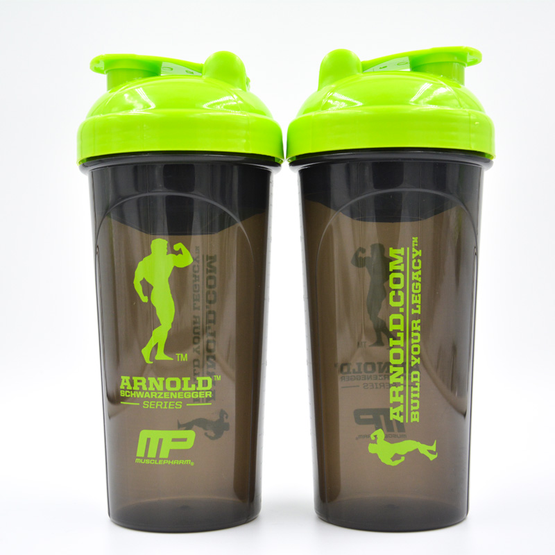 Simple life Fitness protein powder shake cup sports water bottle 600ml