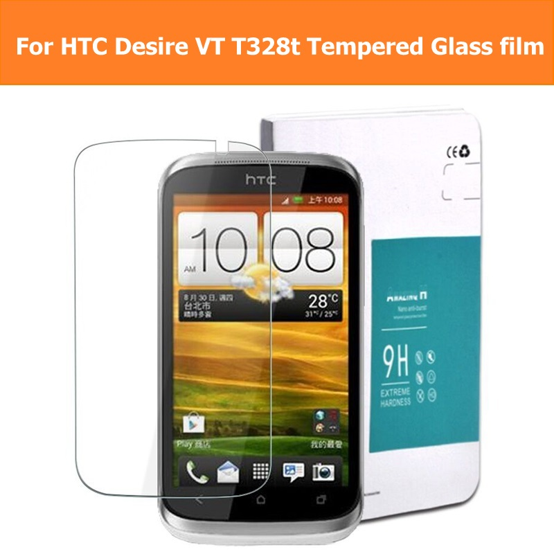 Tempered Glass Film For HTC Desire VC / VT/X/V T328 T329 T/D/W/E Glass film For HTC Desire Eye / 820 Mini Screen Protector Film