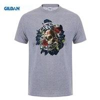 GILDAN Guns N Roses Skull T Shirt Rock Band Tee Men Women Unisex T Shirt Guns