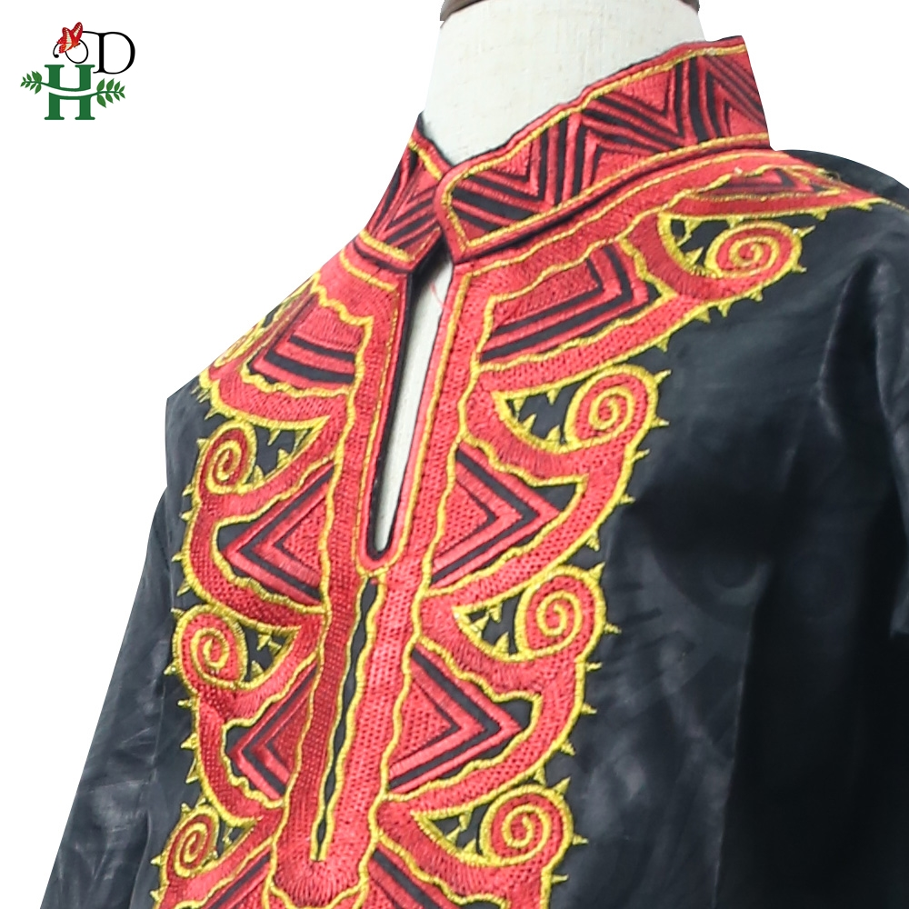 Image 4 - dashiki kid set 2019 african clothing kids boy south africa boys embroidery tops pant suits autumn outfit  TZ8006-in Africa Clothing from Novelty & Special Use